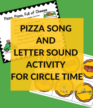 CIRCLE TIME SONG ABOUT PIZZA