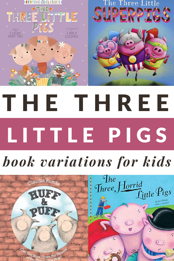 3 LITTLE PIGS BOOKS