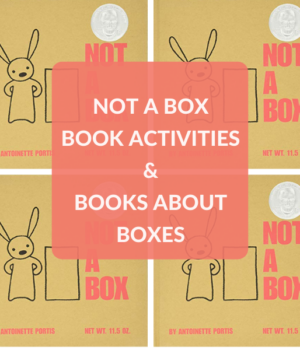 BOOKS ABOUT BOXES AND ACTIVITIES TO DO WITH NOT A BOX