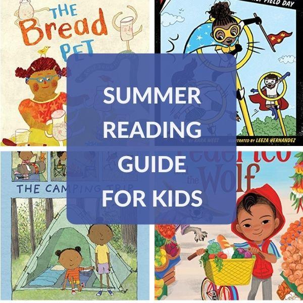 READING LIST FOR KIDS FOR SUMMER