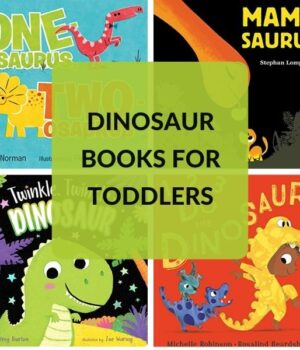 DINOSAUR BOOKS FOR 2 YEAR OLDS