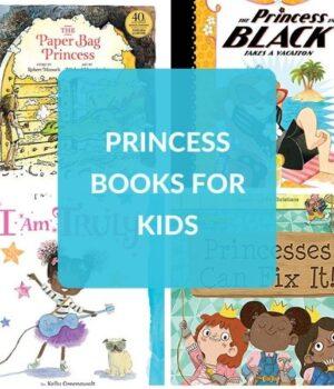 PRINCESS THEMED BOOKS FOR KIDS