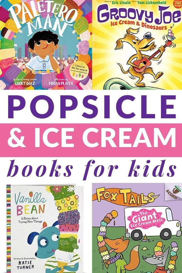 ICE CREAM BOOKS FOR PRESCHOOLERS