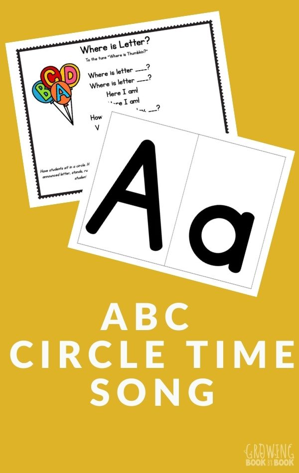 alphabet song for circle time