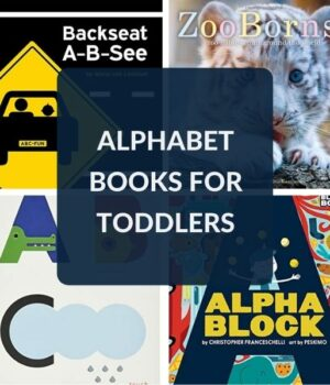 TODDLER BOOKS ABOUT THE ALPHABET