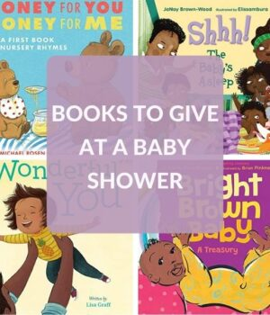 BOOK GIFTS FOR A BABY SHOWER