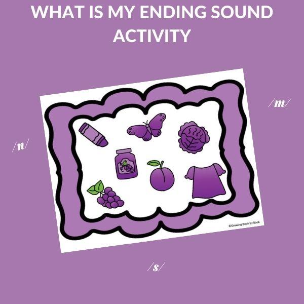 ENDING SOUND ACTIVITY
