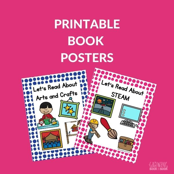DISPLAY POSTERS FOR BOOKS