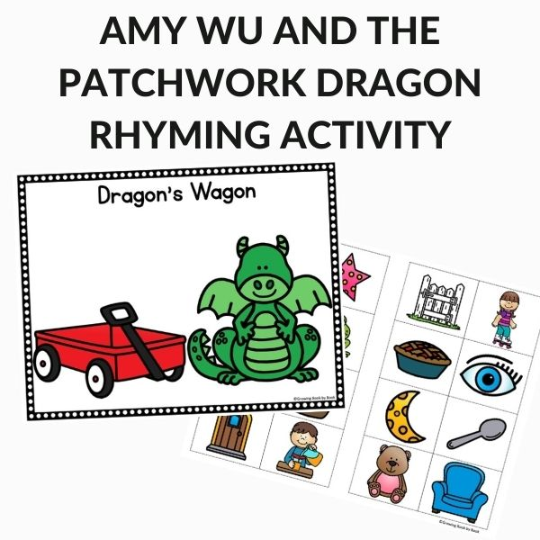 Amy Wu rhyming activity printable sheets