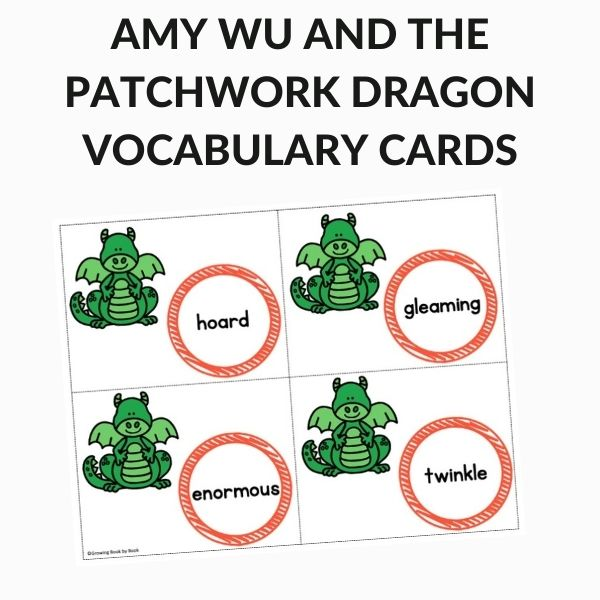 Amy Wu and the Patchwork Dragon Vocabulary Sheet